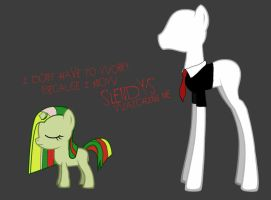 Mimic and Slender Pony by Mimic-Slenderpony