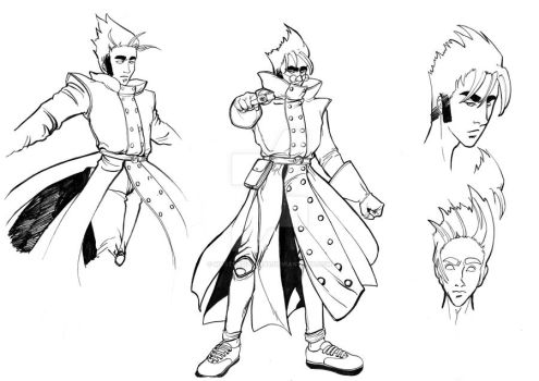Cosfight - character design by mastersilver88