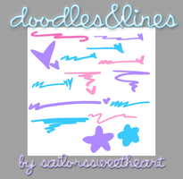 Doodles and Lines by sailorssweetheart