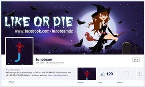 Facebook cover by junoteamvn