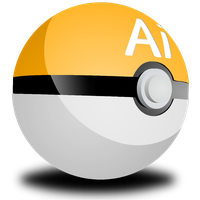 Adobe Illustrator Pokeball by LajaDora