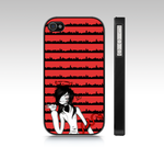 Jeff the Killer iphone 4S cover 2 by DearestRabbit