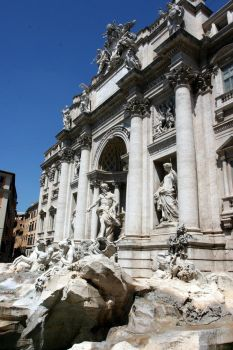 The Fountain of Trevi by lorenzo-angelo