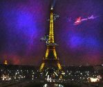 Paris under attack! by cool-babu