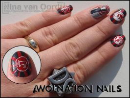 Awolnation nails 2 by Ninails
