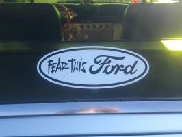 Fear This Ford by BackMasker