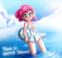 summer pinkie pie by basakdash