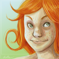 redhead by dolle