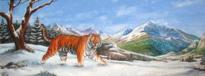 Siberian tiger by Bisanti