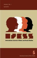 IJESS Journal Cover Design by twistedstairs