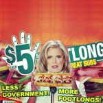 More Foot longs less government by NoriToy