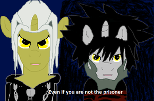 Even if you are not the prisoner by firehea