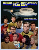 Happy 49th Star Trek by Therese-B