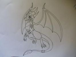Cynder the Dragon by shadowhatesomochao
