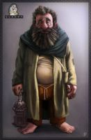 7 dwarves - Sleepy the dwarf by JordyLakiere