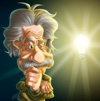 Einstein by andretapol