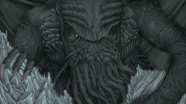 Cthulhu by Illostrator