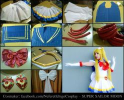 Super Sailor Moon (cosplay tutorial) by Neferet-Cosplay