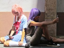 Live to die (Yuno and Minene, Mirai Nikki) by Doriri-chan