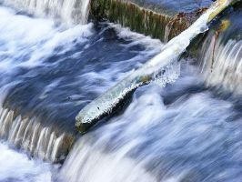 winter weir by Jack-In-The-Green