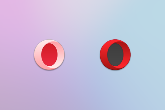 Opera Icon by BluPaper