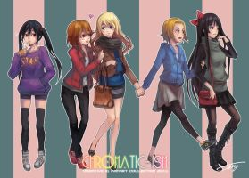 K-ON Afterschool Shopping Time by ichitakaseto