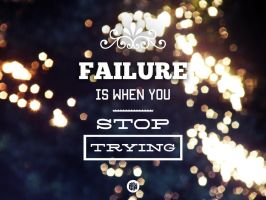 Keep trying. by poutprincess