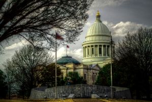 Arkansas State Capital HDR by joelht74