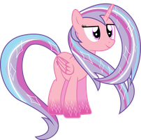 Princess Flares rainbow power by shaynelleLPS