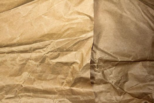 Crumpled brown paper by Texturegen