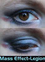 Legion Eye Make-Up by LadySiha
