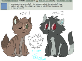 Dare 21: kit 1 and kit 2 by ask-female-scourge