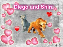 Diego and Shira by BeautifulHusky
