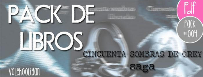 Packlibros #004 Cincuenta sombras de GREY by ValeHooligan