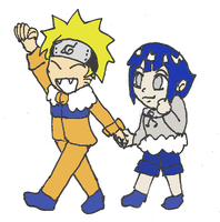 NaruHina - Lets have a walk 'tebayo ! by Mloun