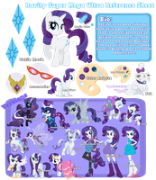 Super Mega Ultra Reference Sheet Concept by equinepalette