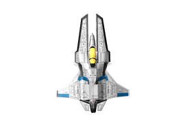 Vic Viper 3D First Attempt by KohakuKun19