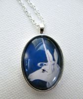 The Last Unicorn Pendant Necklace by artspiritdesigns