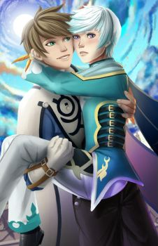 Sorey x Mikleo by Corrupted-Mooch