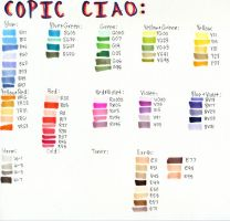 Ciao Color Chart by Awesomefull-person