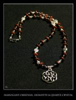 Celtic Knot Necklace 1 by DreamingDragonDesign