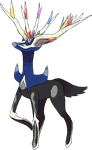 Xerneas by JelloJolteon2000