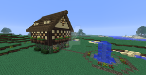 Server build House by UNDEADWARRIOR7411