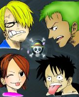 One Piece Recolored by YveS11