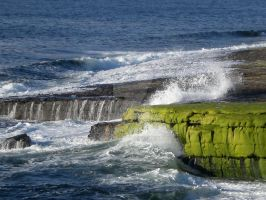 Waves in Ireland by hmcgee