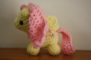 Fluttershy Crochet by drag0nr1der