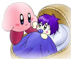 Kirby and Menai by IvynaJSpyder
