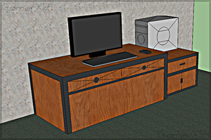 3D Table Model by GamerX54