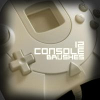 Gaming Console Brushes by e-klipse
