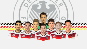 The German Dream (Vector art) by midosamir89